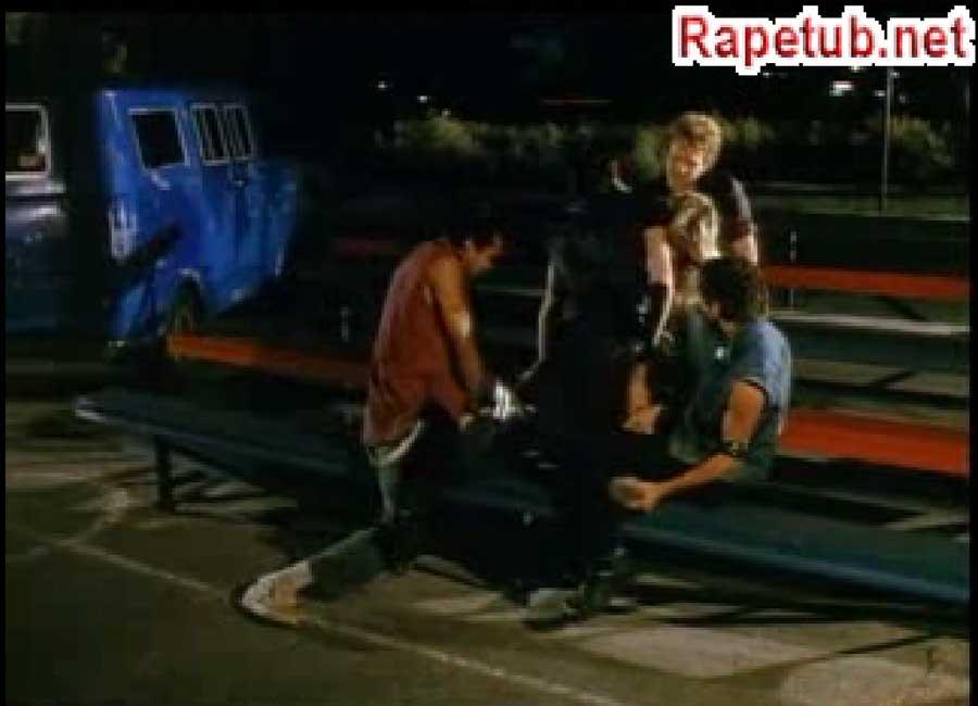 A Wild riders raped blonde.