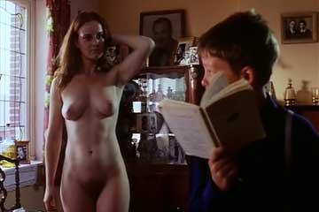 boy and sexy women movie scene