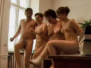 Nude work place