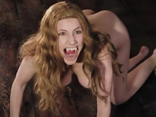 Sexy vampire Miriam Giovanelli