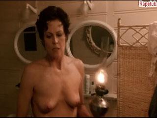 Naked Sigourney Weaver.