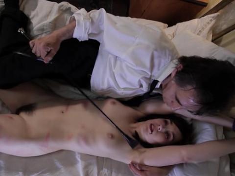 A spanking of vampire girl