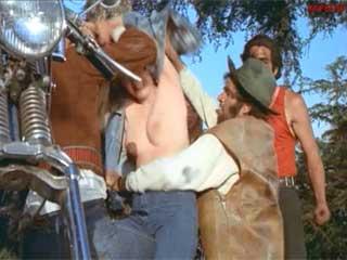 Weak in the head biker take woman by force