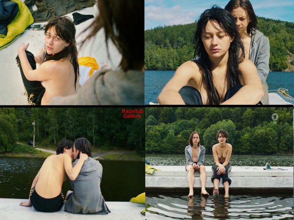 Nudist teen male lake all