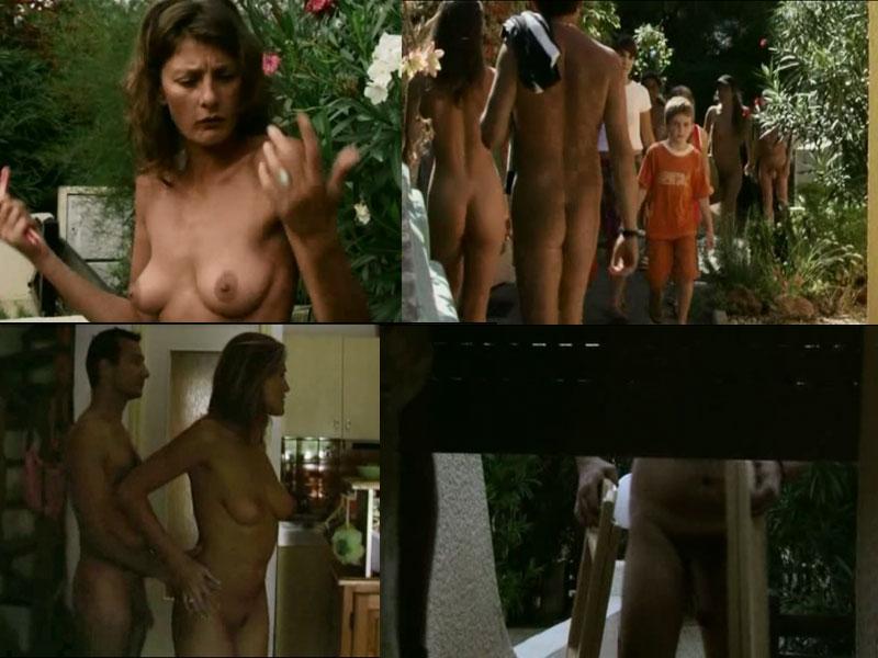 son Naturist nudist mom