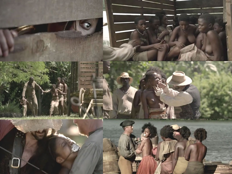 Black Slave Girl Brutalized